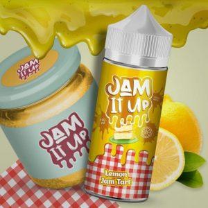 Jam It Up E liquid – Lemon Jam Tart – 100ml