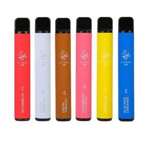 20mg ELF Bar Disposable Vape Pod 600 Puffs